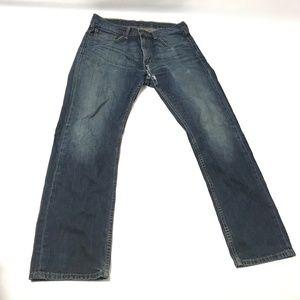 Levis Strauss & Co 505 Men's Jeans High Rise Blue